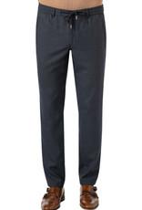 Hiltl textured navy lounge trouser