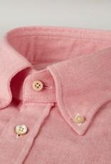 Stenstroms Luxury Flannel Button Down Collar - Pink