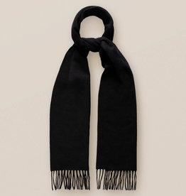 Eton Black Pure Cashmere Scarf