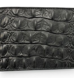 Elliot Rhodes Black Covent Garden Croc Wallet