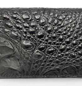 Elliot Rhodes Holland Park Black Croc Mini Wallet