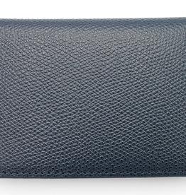 Elliot Rhodes Covent Garden Navy Dauphin Wallet