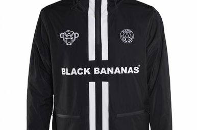 Black Bananas F.C. Windbreaker