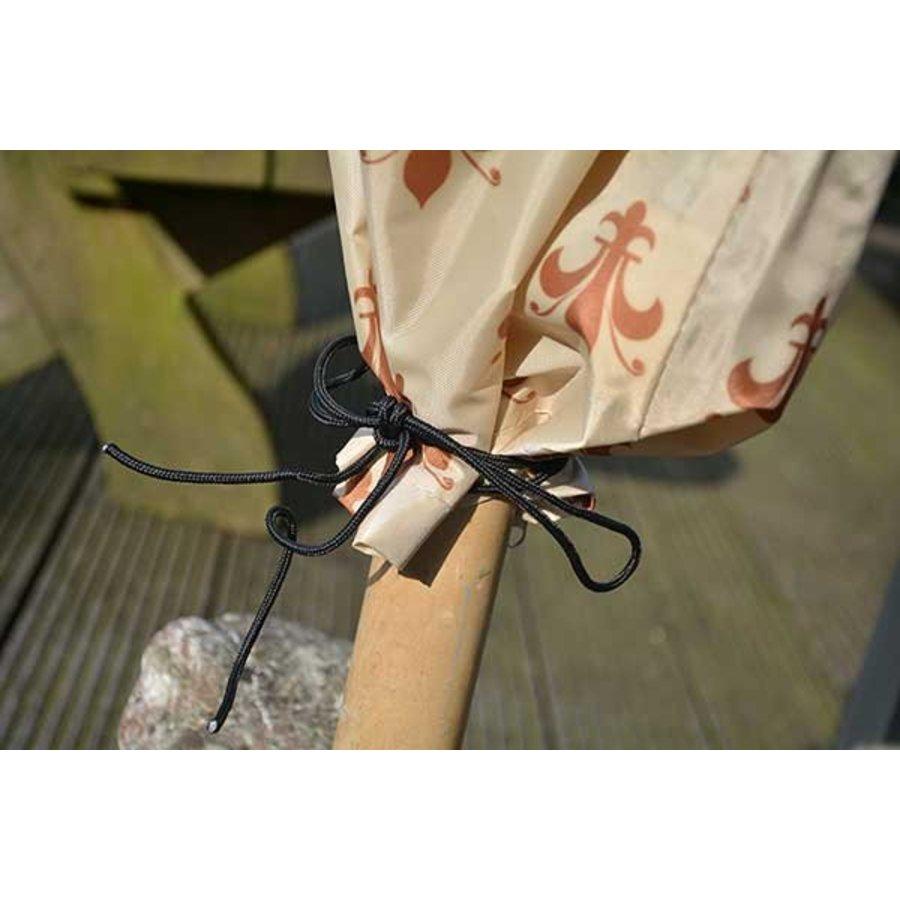 Videx Beschermhoes met lelieprint voor parasol