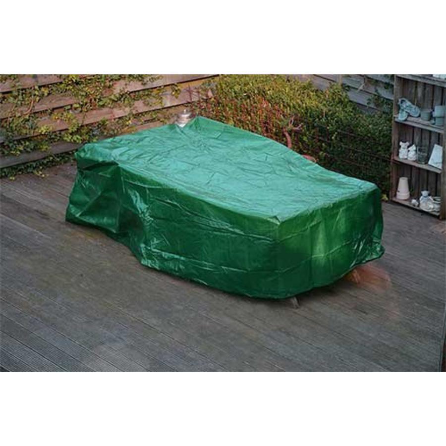 Videx Groene beschermhoes voor rechthoekige tuintafel