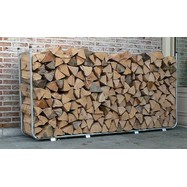 Uitschuifbaar houtstapelrek