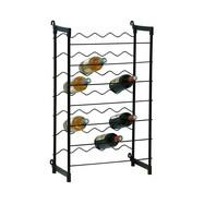 Metalen wijnrek 35 flessen