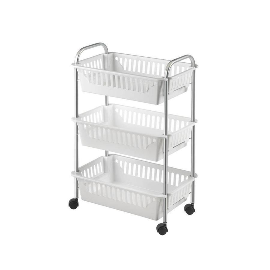 Metaltex | Tomado Trolley OSLO met 3 manden