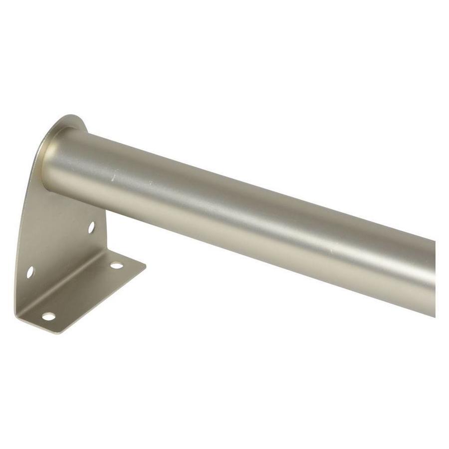 MOTTEZ Kledingroede uitschuifbaar van 40 tot 70 cm nikkel