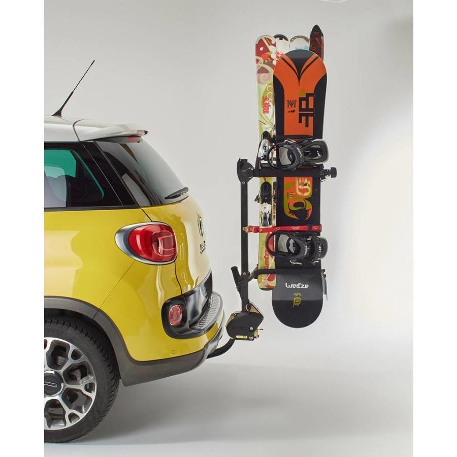 MOTTEZ Skidrager kantelbaar speciaal voor op de trekhaak