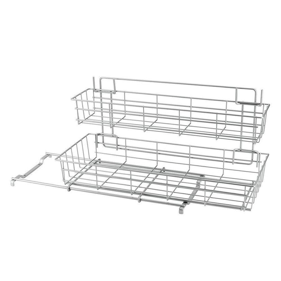 Metaltex | Tomado Keukenkast opbergsysteem LIMPIO met 2 uitschuifbare manden