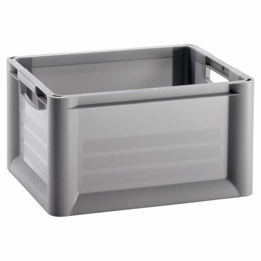 Unibox 30 liter grijs