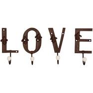 Letters LOVE met haken gietijzer