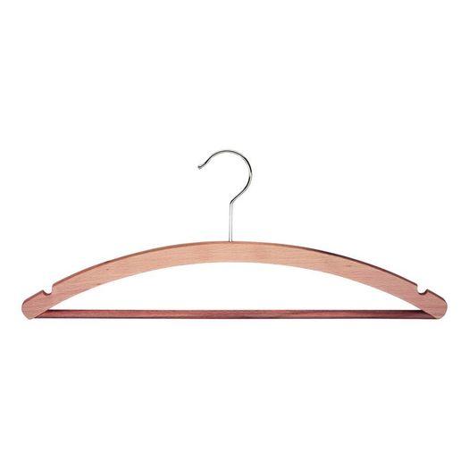 Houten kledinghanger met broeklat STANDARD