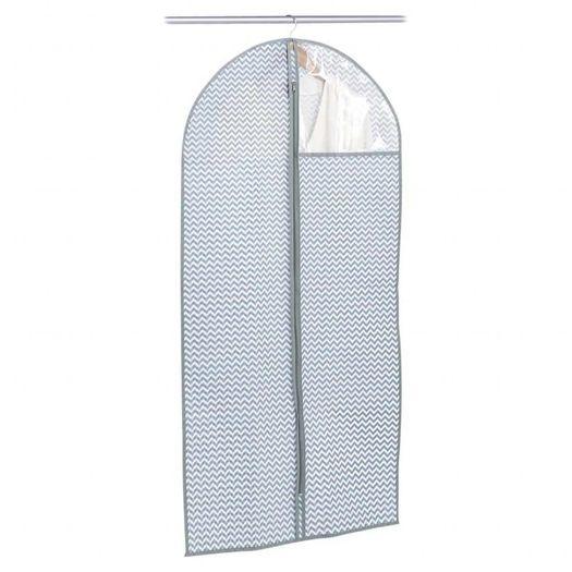 Kledinghoes blauw met grijs zigzag 60 x 120