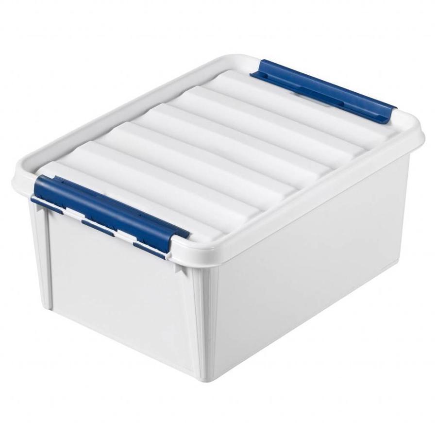 "SmartStore Clipbox Pro 31 wit (50 x 39 x 26 cm) 32 liter ""onbreekbaar!"""