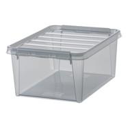 Clipbox Classic 15 transparant grijs (14 liter)