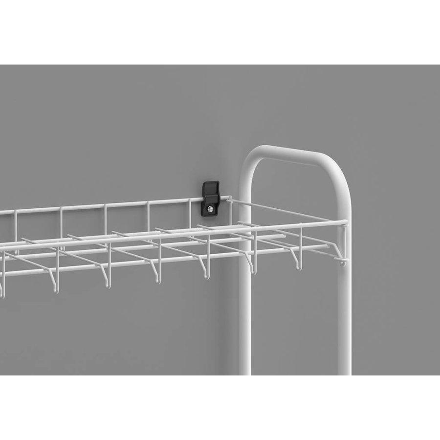 Metaltex | Tomado Schoenenrek metaal met 8 etages