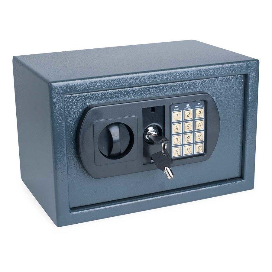 Pavo Kluisje met elektronisch cijferslot en sleutel (31 x 21 x 20 cm)