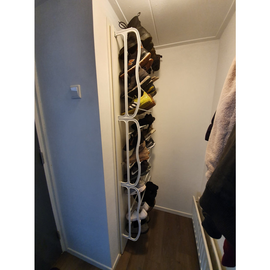 OpbergSpecialist Schoenenrek deur voor 36 paar schoenen