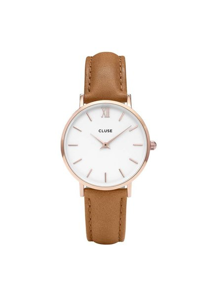 Cluse, Minuit Rose Gold White/Caramel CL30021