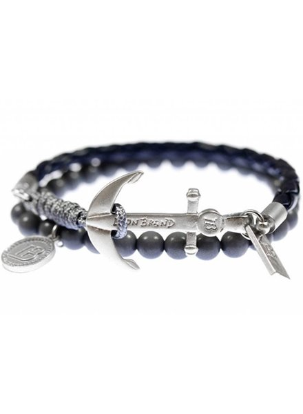 Icon brand, Bracelet Silica, Black/Grey