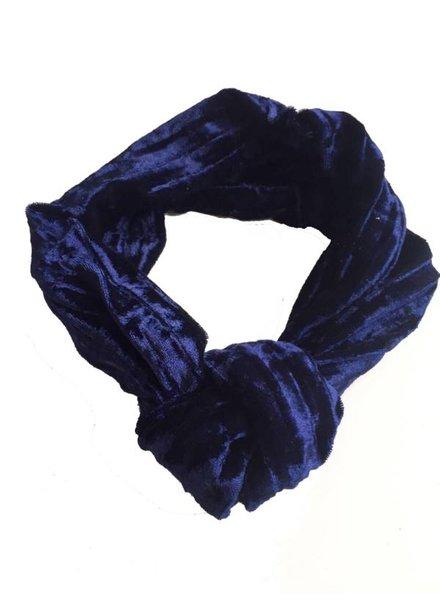 Bulu brands, Velvet bandana, Blue