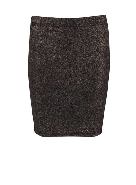Saint Tropez, Shimmer jersey pencil skirt, Gold