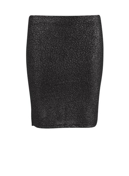 Saint Tropez, shimmer jersey pencil skirt, Silver