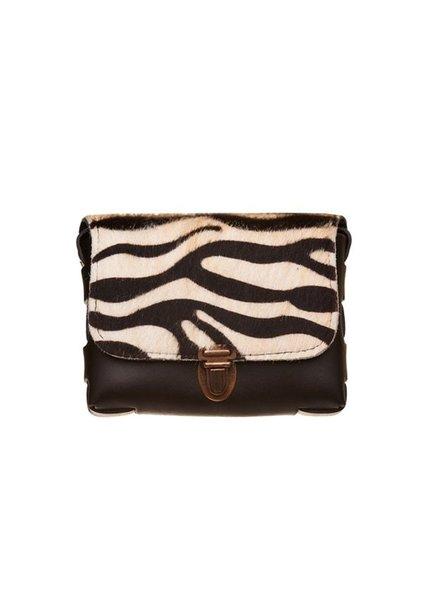Elvy, Bag Skin JS, Black zebra