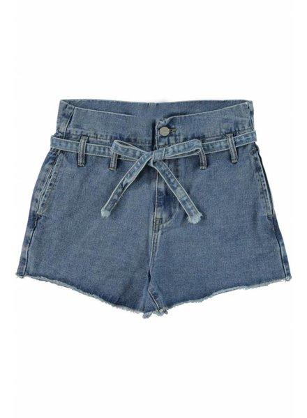 Turquoise, Highwaist short, Jeans