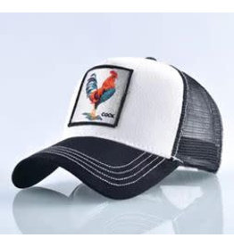 KUIF Basebal cap Black/white