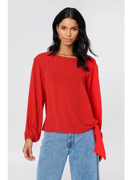 Rut&Circle Rut&Circle, Julia Open Sleeve, Red