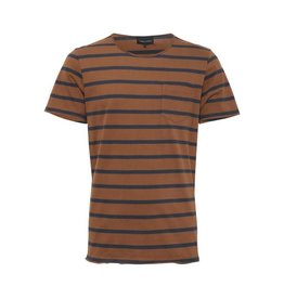 Casual Friday Casual Friday, T-Shirt 20502013, Camel/Blue