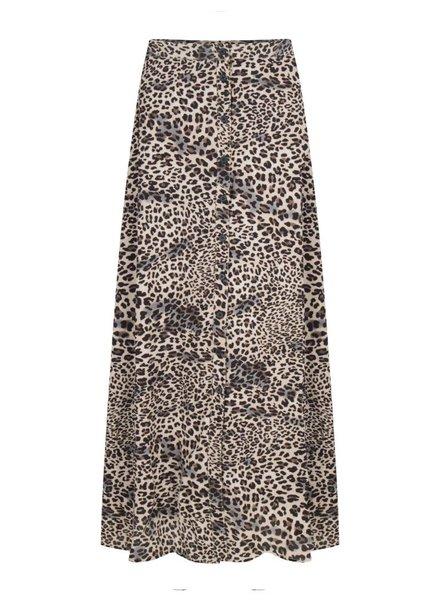 Ydence Ydence, Alexa Skirt Long, Leopard
