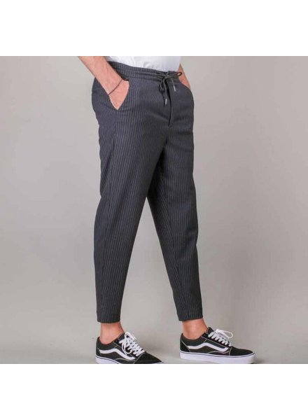 Colourful Rebel Colourful Rebel, Slimfit Pinstripe Trousers, Grey