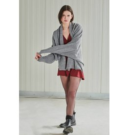 24Colours 24Colours, Cardigan knitted, Grey