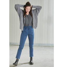 24Colours 24Colours, Pants with stripes, Blue