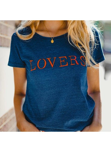 Forever friday, T-shirt lovers, Blue