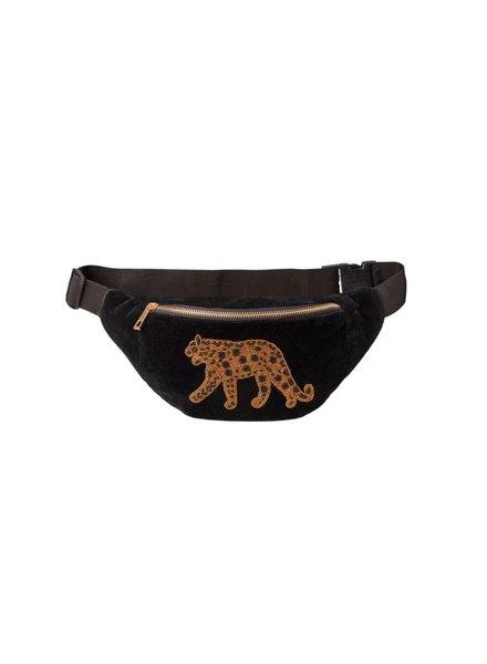 Bulu brands Bulubrands, Bumbag leopard, Velvet black