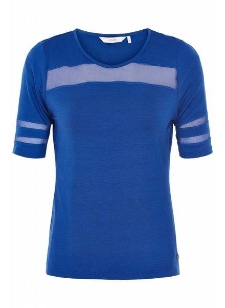 Nümph Nümph, Jaida Jersey Blouse, Blue
