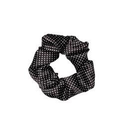 KUIF Scrunchie, Dots, Black