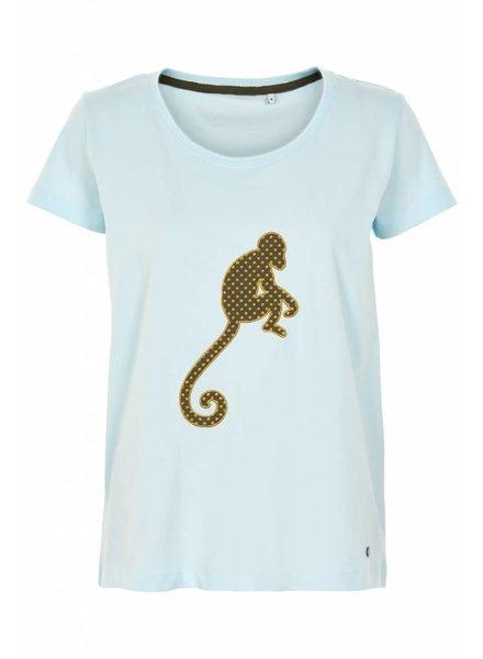 Nümph Numph, Jamison T-Shirt, 3024 Cory. Blue