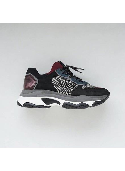 Bronx Bronx, Sneaker Baisley Zebra, Zwart
