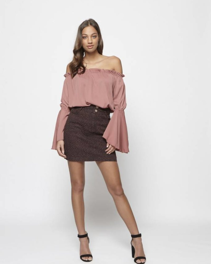 Lofty Manner Lofty manner, Skirt Philipa, Pink