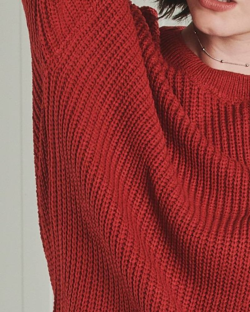 24Colours 24 Colours, Pullover Knitted, 40560 Red