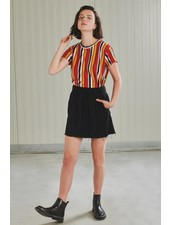 24Colours 24 Colours, Skirt 70398b, Black
