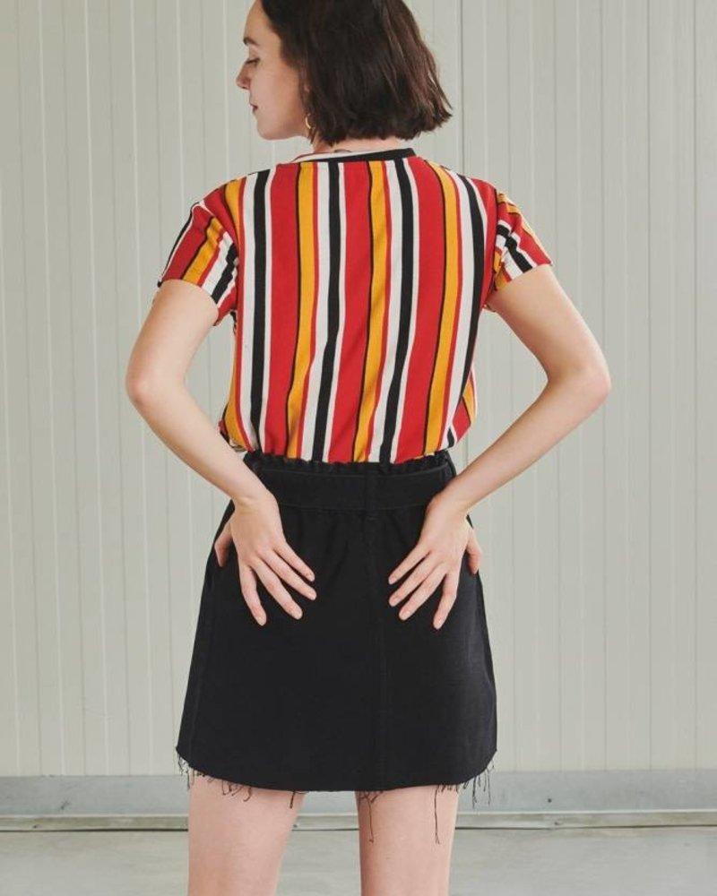 24Colours 24 Colours, Skirt 70398b, Black