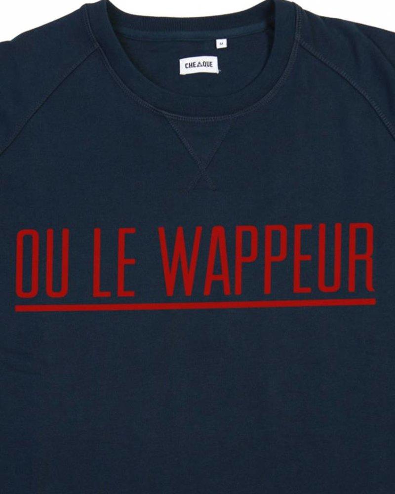 Cheaque Cheaque, Sweater Ou Le Wappeur, Navy