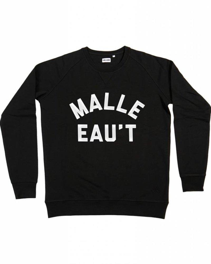 Cheaque Cheaque, Sweater Malle eau't, Zwart